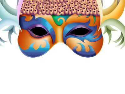 Carnival-Mask Footnote
